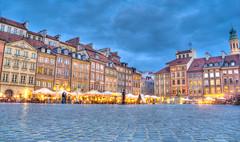 Warsaw Old Town, Blue Hours (C@rlos@FC) Tags: hdr warszawa pologne mazowieckie platinumheartaward