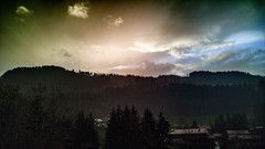 Crazy colored weather (trooopiii) Tags: mountains landscape cloudporn awesomelight lgg4 freedcam