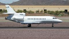 Dassault-Breguet Mystere Falcon 900 N91MS (ChrisK48) Tags: airplane 1987 aircraft dvt phoenixaz kdvt phoenixdeervalleyairport dassaultbreguetmysterefalcon900 n91ms