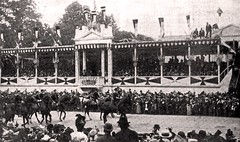Peace Jubilee Parade passing reviewing stand and Pres. McKinley May 24, 1899 (SSAVE w/ over 5 MILLION views THX) Tags: washingtondc parade spanishamericanwar 1899 peacejubilee may241899 presidentwmmckinley endofspanishamericanwar
