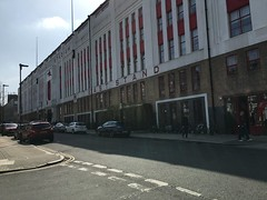 Highbury, the old football stadium to Arsenal is now apartments.