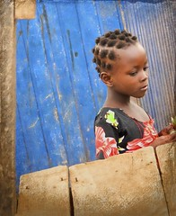 in my own little corner (Pejasar) Tags: africa portrait girl beauty corner child angle ghana westafrica lovely accra introvert