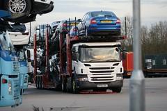 KP65UUL  GJ15ZFV (peeler2007) Tags: truck scania skoda octavia paragon hgv cartransporter lgv skodaoctavia acrtic p410 scaniap410 kp65uul gj15zfv