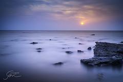 365 - (Gladson777) Tags: sky india motion blur beach clouds evening rocks long exposure waves sony salt filter nd 1855 splash alpha mumbai wispy slt hoya pans a58 55200 vasai nd400 kenko ponda bhuigaon naigaon ndx400 sussnet