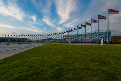 DEP_0270 (Dmitriy An) Tags: sunset sky clouds flags flame serenity olympic olympicgames sochi