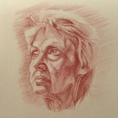 Marion for JKPP (eejayseabee) Tags: portrait pencil portraitparty carbothello jkpp juliakaysportraitparty