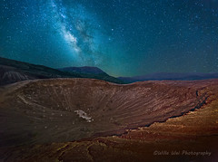 Lord of Ring (Wei, Willa) Tags: deathvalley milkyway littlecrater