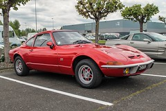 Opel GT (xwattez) Tags: old france car automobile parking voiture german transports gt opel ancienne 2016 tarbes vhicule allemande