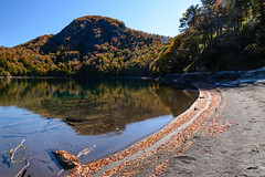 Laguna Huinfiuca (Patricio Jimnez Barros) Tags: chile otoo parquenacionalvillarrica lagunahuinfiuca