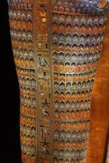 Canopic Coffinette (Tjflex2) Tags: seattle history kingtut ancient exhibit egyptian pharaoh 18thdynasty valleyofthekings ancientegypt tutankhamun antiquity newkingdom livingimageofamun