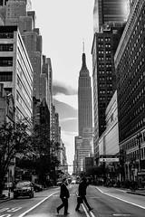 "Serie: ""NYorkers"" (carlosagrazal) Tags: street nyc newyorkcity blackandwhite ny newyork monochrome streetphotography streetphoto streetphotos streetphotographer streetphotographers streettogs everybodystreet"