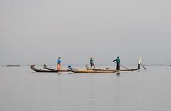 Inle Lake, Myanmar - Local Fisherman (GlobeTrotter 2000) Tags: travel house lake tourism water boat fisherman asia fishermen market burma traditional visit myanmar inle birmanie kalaw nyaungshwe nyaung inthein shwe heho