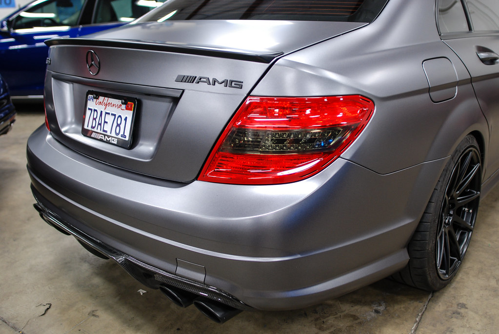 The world 39 s best photos of blackout and california for Mercedes benz paint protection package