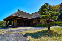 Old-folk-house (yoshikazu kuboniwa) Tags: old houses roof house building tree green history architecture rural landscape outside outdoors countryside ancient exterior village outdoor folk traditional rustic villages historic historical cultural exteriors timbered