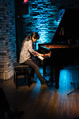 Satoko Fujii live at Cortez, Mito (Japan), 28 Apr 2016 -1000022 (megumi_manzaki) Tags: musician piano jazz improvisation pianist freejazz