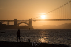 'A Golden Sunset' (Raymond K. Photography) Tags: sanfrancisco sunset outdoor goldengatebridge sonya7s sonyepz18105mmf4goss