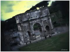 Arco di Costantino   ( Roma ) (lefotodiannae) Tags: roma italia di arco costantino lefotodiannae