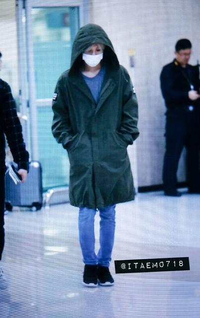 160427 Taemin @ Aeropuerto Gimpo {Llegada a Corea} 26732138675_03ab48702b_z