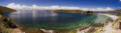Isla del Sol (Chachino) Tags: travel titicaca canon landscape bolivia panoramic traveling isladelsol