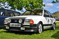 Ford Escort MKIII RS1600i (stavioni) Tags: white classic ford car iii 1600 rs mk escort mkiii 16i rs1600i 1600i lev613y