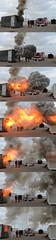Backdraft (BZMFB) Tags: zaragoza escuela fuego aire humo bomberos calor backdraft entrenamiento formacin flashover bomberoszaragoza