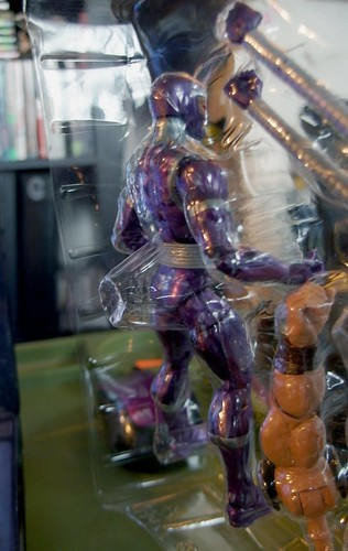 The Machine Man Marvel Legends figure has a fart-catcher in the back of the plastic package