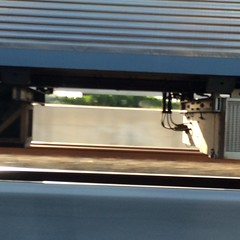 Under a moving train (Figgles1) Tags: railroad train pattern under railway trains freeway iphone img0054