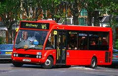 YJ60 PFN (Bernard_Leee) Tags: uk london solo archway w5 tfl redbus ukstyle optare optaresolo