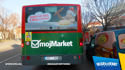 Info Media Group - Moj Market, BUS Outdoor Advertising, Banja Luka 12-2015 (6)