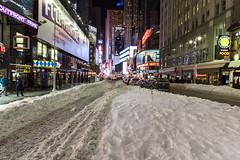 NYC January 2016 - RAW (2) (MarkJGledhill) Tags: nyc newyorkcity longexposure snow newyork skyline brooklyn canon square unitedstatesofamerica 911 yellowcab dumbo nypd hersheys timesquare timessquare brooklynbridge empirestate canonrebel times rockefellercentre flatiron topoftherock winterstorm washingtonavenue eos7d oneworldtradecentre canon7d snowmageddon newyork2016