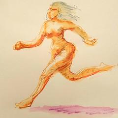Prueba (Fotero) Tags: color fountainpen pluma dibujo tinta lavado estilografica whash waterbrushpen instagram ifttt