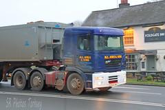 ERF ECX ME Ayres & Son (SR Photos Torksey) Tags: road truck tipper transport lorry commercial vehicle erf ayres logistics haulage hgv lgv