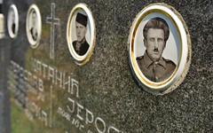 Cemetery 8 (orientalizing) Tags: desktop cemetery serbia portraiture balkans tombstones ostra featured wwiiveterans centralserbia čačakregion