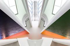 no longer dark (yushimoto_02 [christian]) Tags: abstract museum architecture frankfurt interior symmetry architektur minimalism minimalistic frankfurtammain abstrakt hanshollein mmk minimalismus museummodernekunst