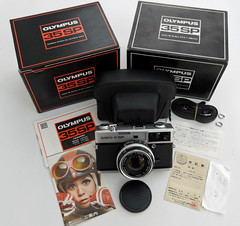 Olympus 35 SP Box Kit (Song-to-the-Siren) Tags: 35mm rangefinder olympus sp analogue filmcamera 35 classiccamera olympus35sp