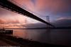 Sunrise @ Lisbon (paulo_1970) Tags: bridge rio sunrise river lisboa lisbon ponte tejo ponte25deabril riotejo canon1022mmf3545 canon7d paulo1970
