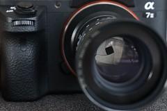 Schneider Tele-Xenar 110/4.5 (for Robot camera/recorder) four-blade aperture (gwuphd) Tags: lens f45 schneider 110mm telexenar robotcamera