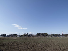 Field and sky (odeleapple) Tags: field digital olympus zuiko e5 zd 1122mm