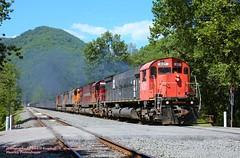 .(SEE & HEAR), WNYP 637, DFT, Huntley, PA. 7-09-2011 (jackdk) Tags: railroad train cartier railway driftwood locomotive alco dft mlw c636 c630 wnyp m636 mlw636 westernnewyorkandpennsylvania mlwm636 driftwoodturn