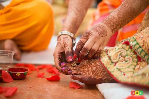 A ritual where the bride is gifted a toe ring during her marriage!