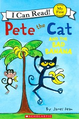 Pete the Cat and the Bad Banana (Vernon Barford School Library) Tags: new fiction cats fruits animal animals fruit cat reading james book high reader eating library libraries dean bad reads first books super banana read paperback bananas cover junior pete novel covers bookcover pick rotten middle vernon quick recent picks bookcovers shared paperbacks jamesdean novels fictional barford softcover petethecat icanread vernonbarford softcovers superquickpick 9780545864619 myfirstsharedreading