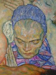 Klimt, Death and Life (detail) (profzucker) Tags: vienna life painting death klimt secession symbolism leopold klimtdeath