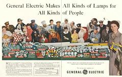 GE Lamps 1950 (JeffCarter629) Tags: ge generalelectric gechristmaslights generalelectricchristmaslights