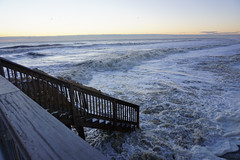 After the storm. January 2016 (Dave_Lospinoso) Tags: ocean park county new winter storm beach sunrise river landscape island coast pier seaside high surf waves surfer sony tide nj surfing casino atlantic erosion shore jersey barrier toms alpha jonas heights fema waterscape replenishment lavallette ortley tiver a6000