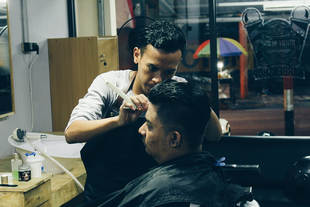 The Worlds Best Photos Of Barber And Rambut Flickr Hive Mind - Hairstyle barbershop indonesia