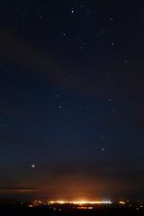 Jupiter Rising above Arklow (Edward Wolohan) Tags: ireland stars astrophotography astronomy nightsky jupiter wicklow wexford gemini constellation arklow auriga procyon canisminor
