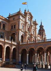 Plaza de Espaa (Sevilla) (5) (DAGM4) Tags: espaa sevilla andaluca spain espanha europa europe seville espana andalusia espagne plazadeespaa espagna andalusie espainia espanya  spainsquare plazadeespaasevilla       espainiakoplaza  sevillako  laplacedespagne