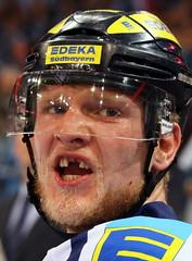 hockey smile (Enjoy my pixel.... :-)) Tags: ice hockey smile sport action arena halle eishockey handschuh