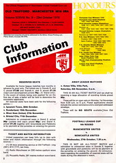 Manchester United vs Norwich City - 1976 - Page 2 (The Sky Strikers) Tags: old city red manchester one football official united devils norwich division trafford league programme
