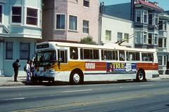 Muni #5251 (Jim Strain) Tags: bus muni trolley jmstrain transit coach city vehicle sanfrancisco railway california
